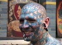 Enigma tattooing 1995 Amsterdam