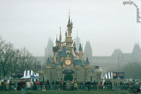 Disneyland kasteel op Museumplein 1992