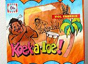 karikatuur een oude verpakking van Ola ijs